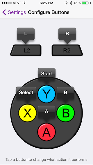 iOS 7 Controller Customization