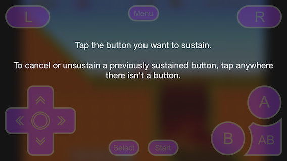 Sustain Button