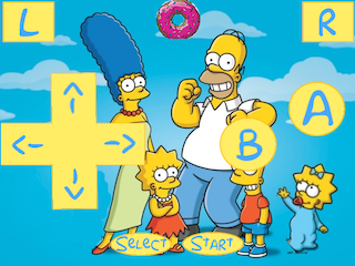 Simpsons Portrait